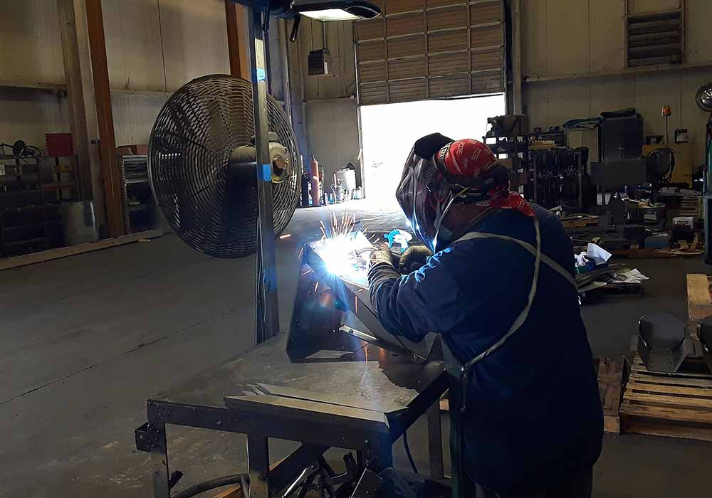 Production MIG Welding