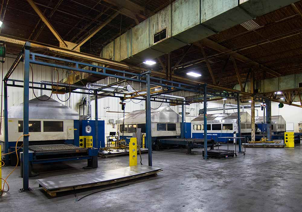 Trumpf 3030 And 4030 Lasers